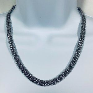"""316L Stainless Steel 20"""" Popcorn Necklace"""